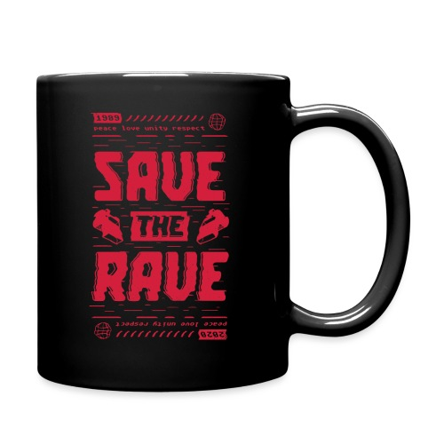 Save The Rave - Full Colour Mug
