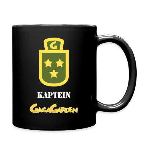 GagaGarden kaptein - Ensfarget kopp