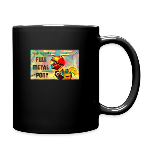full metal pony - Tasse einfarbig