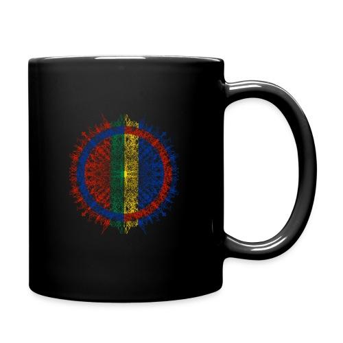 Samisk flagg - Ensfarget kopp