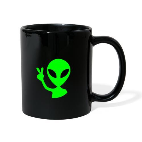 Peace out Alien - Full Colour Mug