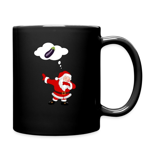 Père Noël aubergine - Mug uni