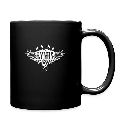 Large Lynus logo White - Full Colour Mug