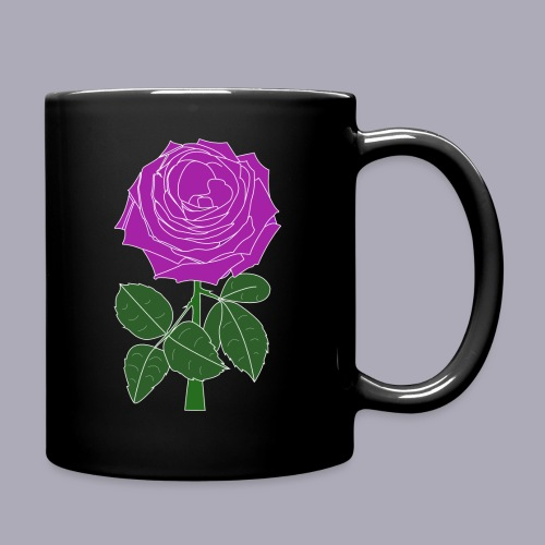 Landryn Design - Pink rose - Full Colour Mug