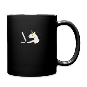Unicorn Work - Full Colour Mug