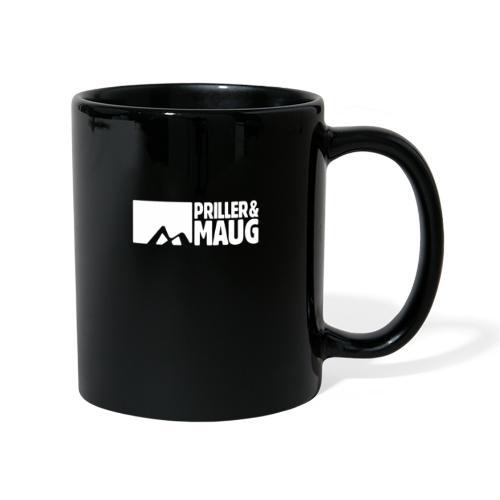 Priller&MAUG Logo [w] - Tasse einfarbig