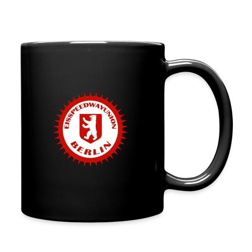 Logo in Rot Weiß - Tasse einfarbig