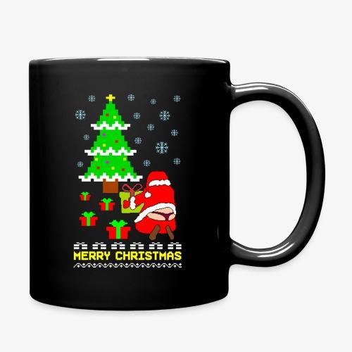 Merry Christmas Santa Tanga Ugly Xmas - Tasse einfarbig