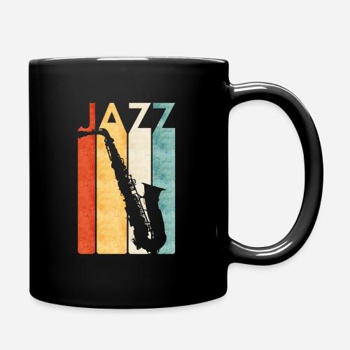 Jazz Saxophon Retro - Tasse einfarbig
