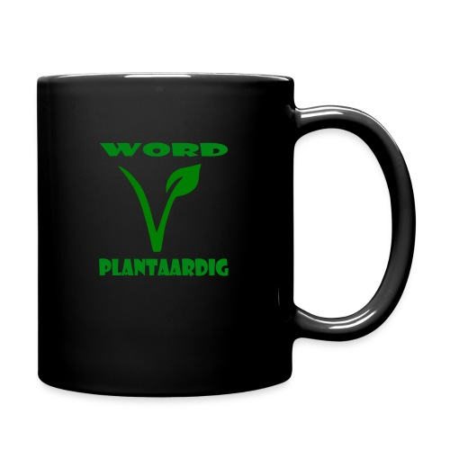 word plantaardig - Mok uni