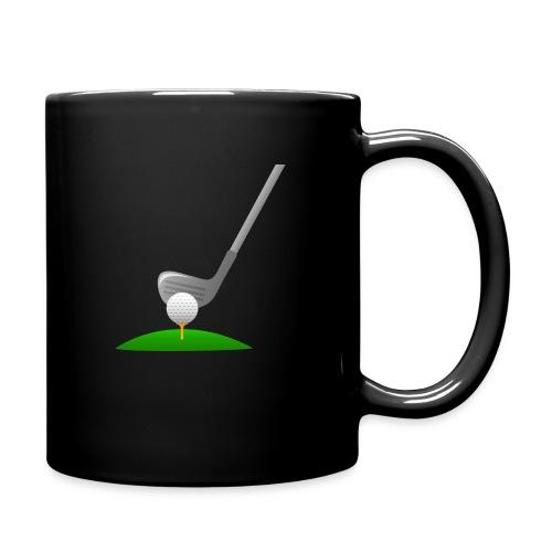 Golf Ball PNG - Taza de un color