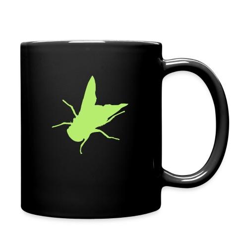 fliege - Tasse einfarbig