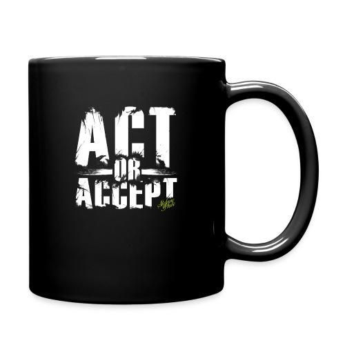 Stefano Pluto - ACT OR ACCEPT - Tasse einfarbig