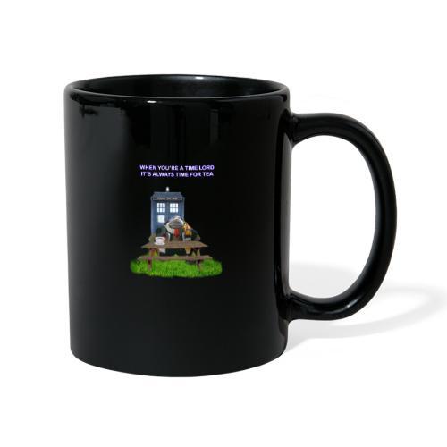 TIME AND SPACE AND TEA - Full Colour Mug
