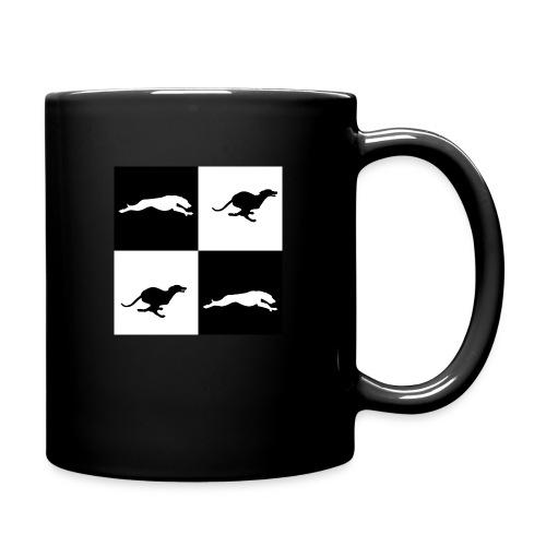 whippetsquares2 png - Full Colour Mug