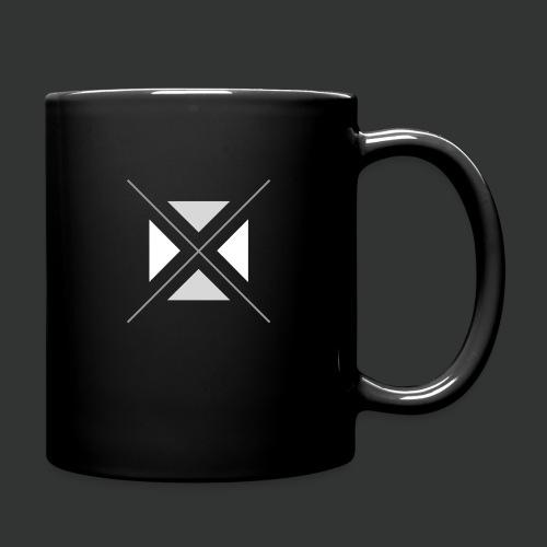 hipster triangles - Full Colour Mug