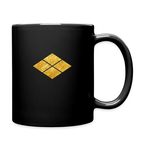 Takeda kamon Japanese samurai clan faux gold - Full Colour Mug
