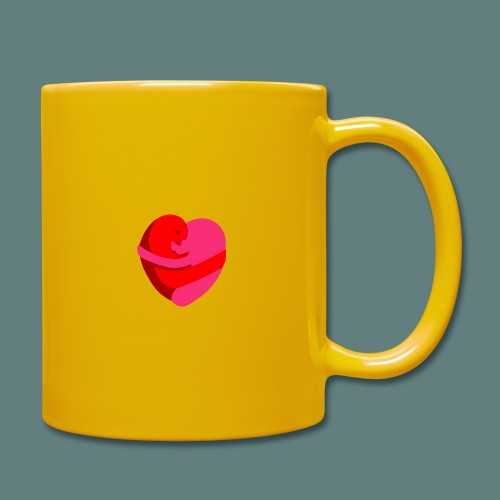 hearts hug - Tazza monocolore