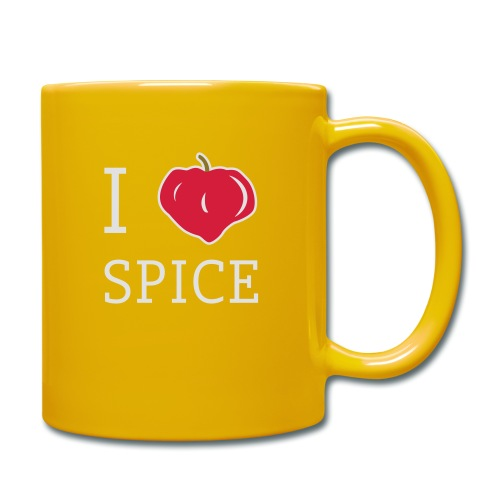 i_love_spice-eps - Yksivärinen muki