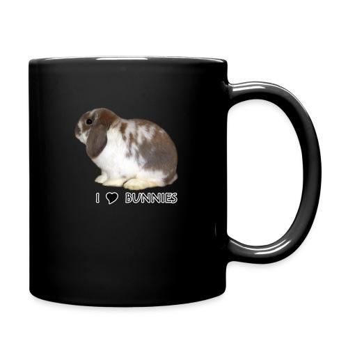 I Love Bunnies Luppis - Yksivärinen muki