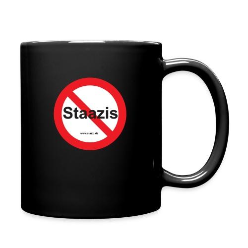 Staazis Verboten - Tasse einfarbig
