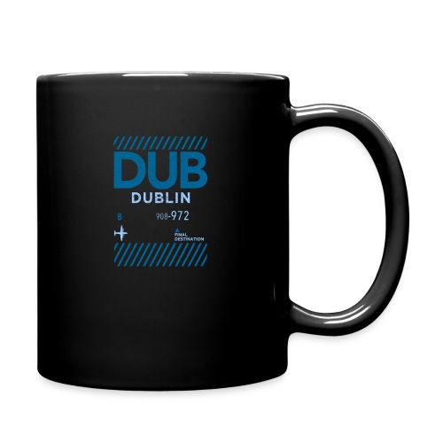Dublin Ireland Travel - Full Colour Mug