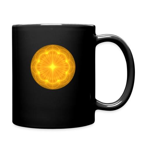 Golden Radiance Mandala Heart - Mok uni