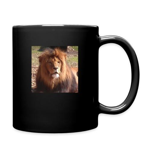 Lejon - Enfärgad mugg