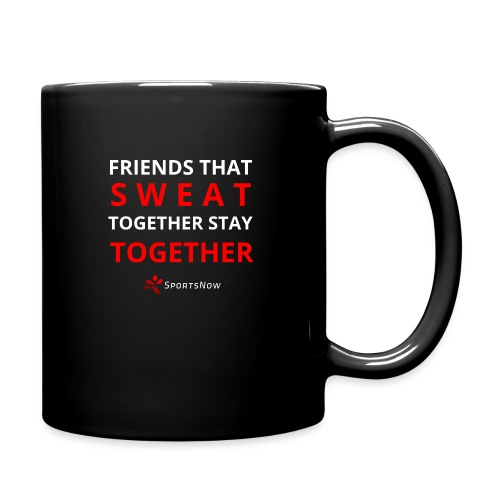 Friends that SWEAT together stay TOGETHER - Tasse einfarbig