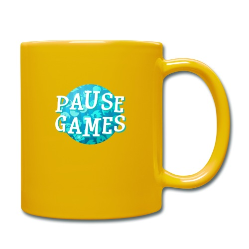 Pause Games New Design Blue - Full Colour Mug