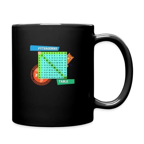 Pythagoras table - Ensfarget kopp