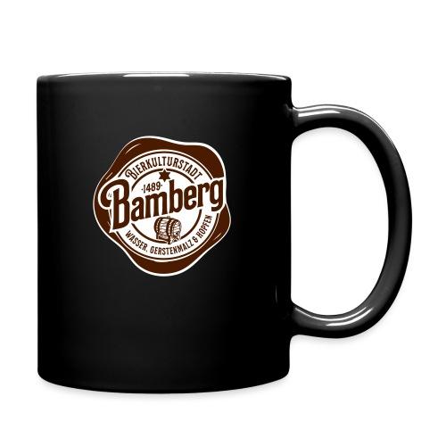 Bierkulturstadt Bamberg - Tasse einfarbig