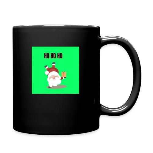 acrobatic santa - Full Colour Mug