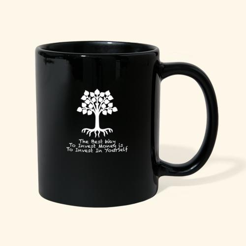 Printed T-Shirt Tree Best Way Invest Money - Tazza monocolore