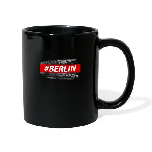 Hashtag Berlin - Tasse einfarbig