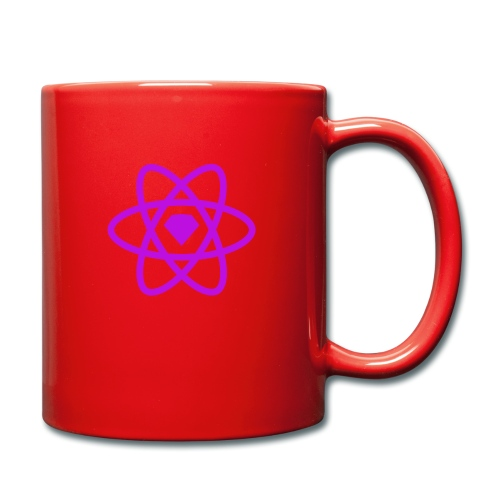 sketch2react logo purple - Full Colour Mug