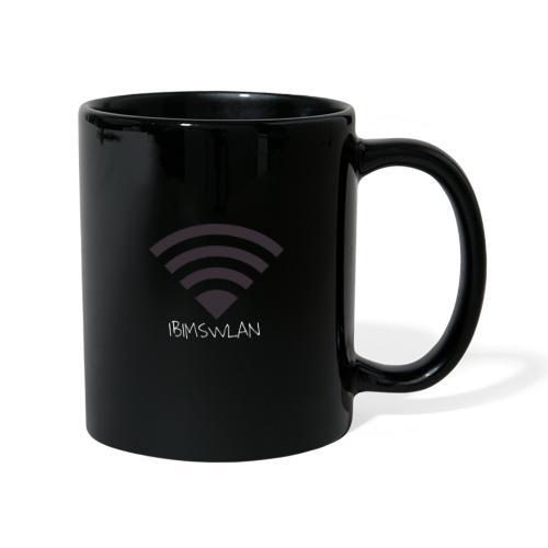 WLAN Symbol - Tasse einfarbig
