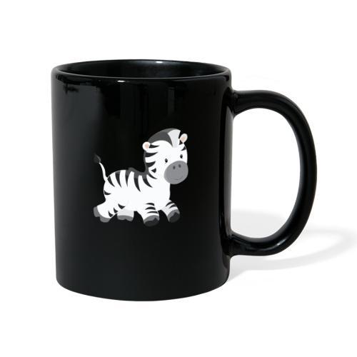 Zebra - Tasse einfarbig