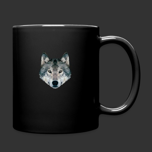 Loup LowPoly - Mug uni