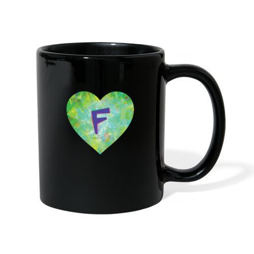 F follows fabulous family fun facts furiously - Full Colour Mug