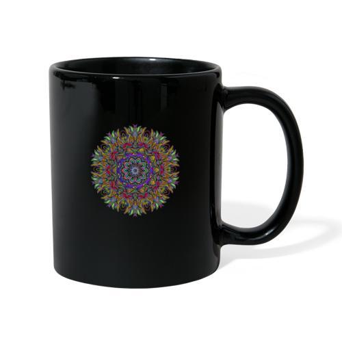 mandala - Tasse einfarbig