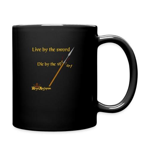 Live by the sword - Full Colour Mug