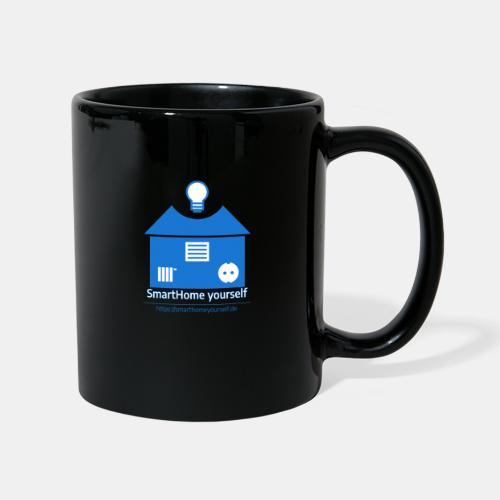 SmartHome yourself Logo Groß - Tasse einfarbig