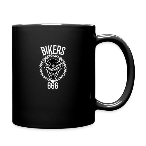 666 bikers black - Mug uni