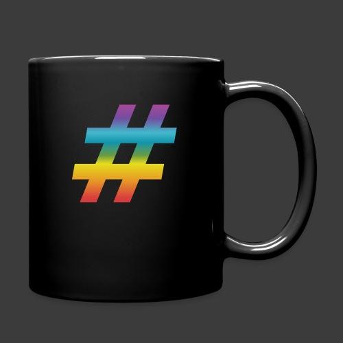 rainbow hash include - Full Colour Mug