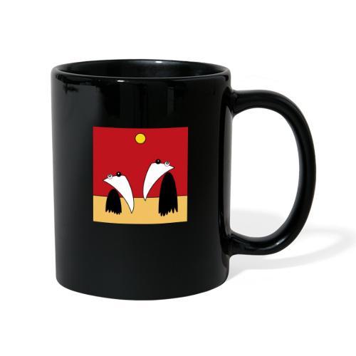 Raving Ravens - in the desert - Mug uni