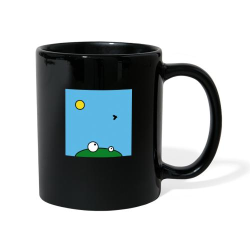 Hungry Frog - lunch time - Full Colour Mug