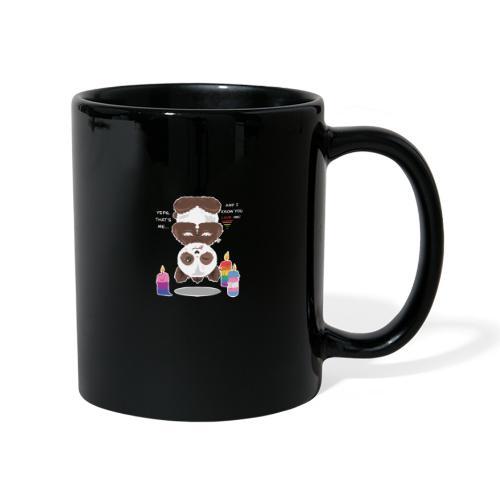 Panda Love - Ensfarvet krus