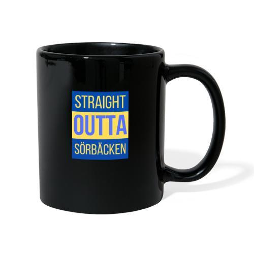 Straight outta Sörbäcken - Enfärgad mugg