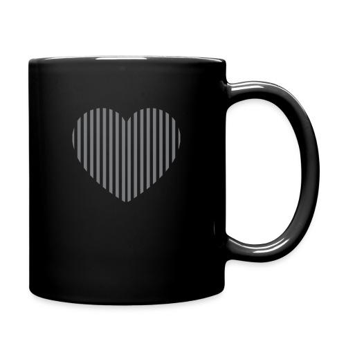 heart_striped.png - Full Colour Mug